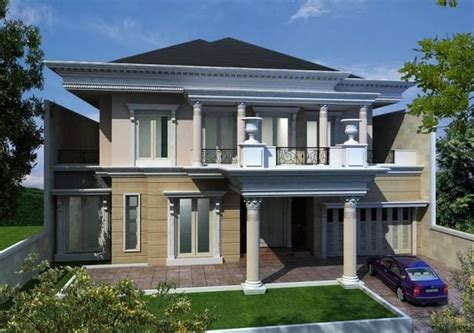 desain gambar rumah klasik eropa gambar desain rumah