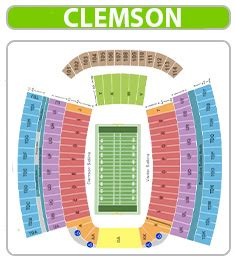 clemson football    seats cheapest prices