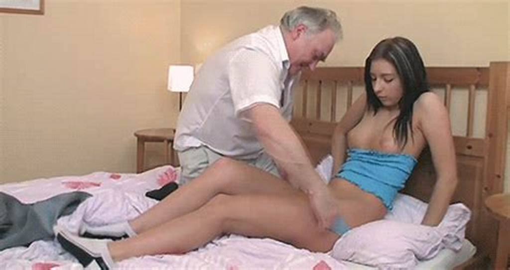 #Russian #18Yo #Babe #Pounded #By #Horny #Old #Man
