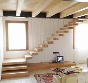 Fabriquer Son Escalier : escalier quart tournant sur mesure ~ Premium-room.com Idées de Décoration