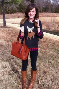 Dark Gray J Crew Sweaters Light Brown The Buckle Boots Red Plaid J Crew Shirts   u0026quot;My Go-to ...