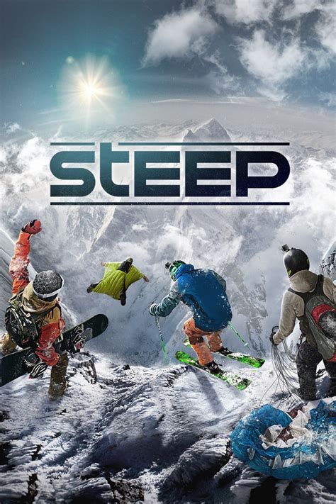 Steep (2016) Playstation 4 Box Cover Art Mobygames