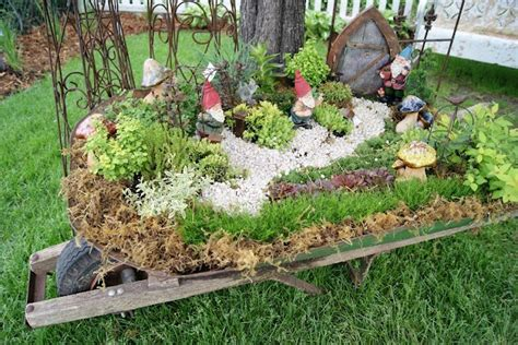 Gnome Garden Ideas Images Photograph