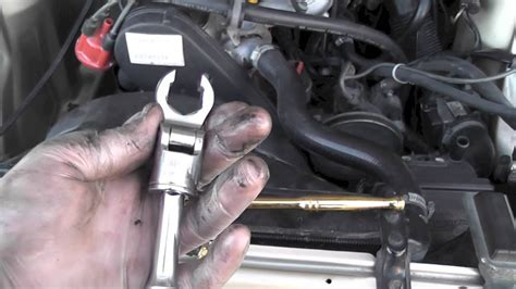 volvo  coolant temp sensor iat replacement youtube