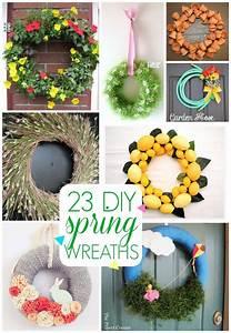 23 DIY Spring wreath ideas - C R A F T