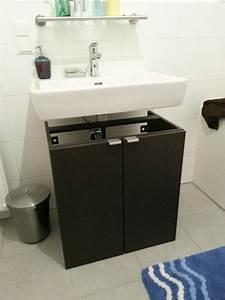 Ikea Metod Unterschrank : ikea bad unterschrank ein k chenschrank im badezimmer bad umbau mit ikea metod hack mimimia diy ~ Watch28wear.com Haus und Dekorationen