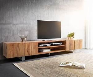 Lowboard Tv Holz : die besten 25 tv lowboard holz ideen auf pinterest tv wand lowboard tv wand mit holz und tv ~ Orissabook.com Haus und Dekorationen