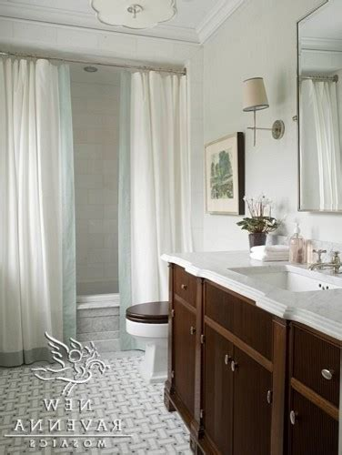shower curtain designs bathroom shabby chic style with brownstone striped bath towels