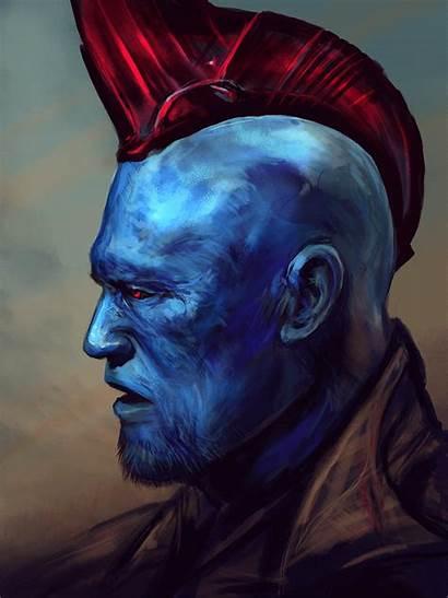 Yondu Marvel Udonta Badass Comics Heroes Galaxy