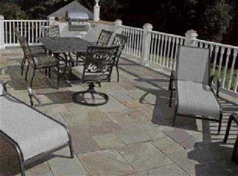 paving  deck  stone professional deck builder