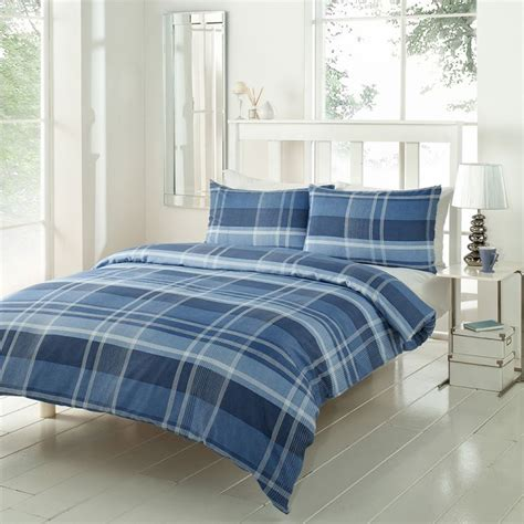 denim duvet cover conway check duvet cover set denim tonys textiles