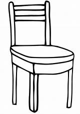 Chair Coloring Pages Print Chair9 sketch template