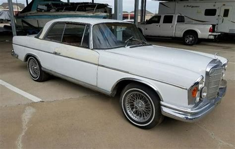 Model, year and the best price that fits your budget. 1965 Mercedes W111 250 SE (coupe) | classicregister