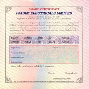 Fancy Fans With Lights India Shareholder Scheme Padam Electricals Limited