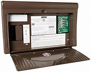 Wfco Wf8725p Brown 25 Amps Power Center