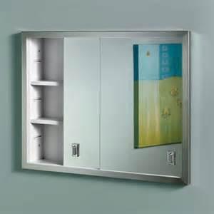 jensen medicine cabinet contempra 24w x 19h in recessed