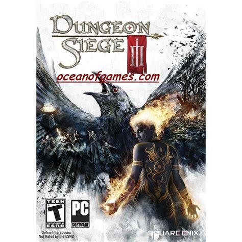 dungeon siege free dungeon siege 3 free
