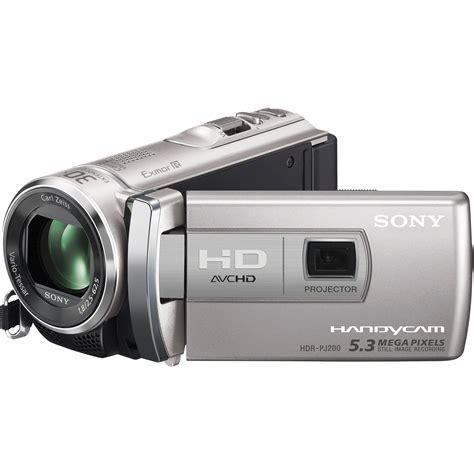 sony hdr pj200 high definition handycam camcorder hdrpj200 s b h
