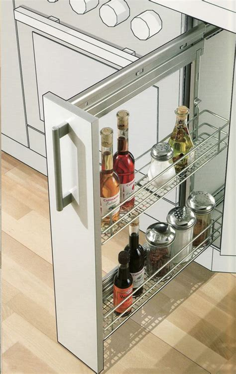 Blum Spice Rack by Columbia Cabinets Accessories