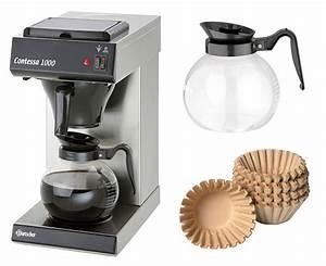 Glaskanne Für Kaffeemaschine : bartscher kaffeemaschine contessa 1000 1000 korbfilter 2 glaskanne ebay ~ Whattoseeinmadrid.com Haus und Dekorationen