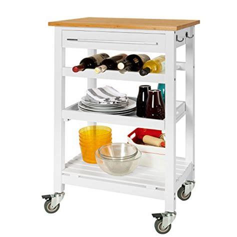 küchenwagen mit arbeitsplatte praktische k 252 chenwagen mit viel stauraum schubladen und rollen