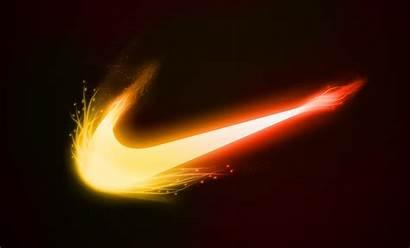 Nike Fire Background Wallpapers Pixelstalk