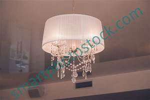 Ceiling light illumination smart photo stock