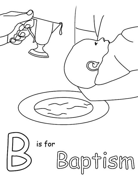 baptism coloring pages catholic sacrament baptism coloring page sketch coloring page