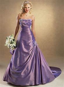Purple colored wedding dress sang maestro for Wedding dresses in color