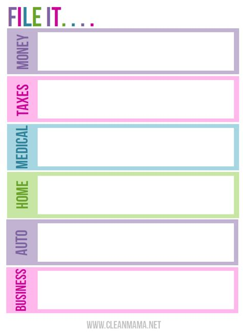 7 best images of printable labels for organizing paperwork coupon labels printable office