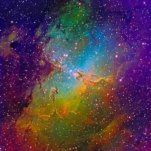 M16 Eagle Nebula Mapped Color - March 2011 | Flickr ...