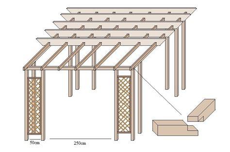 Der Dachstuhl Selbst Anlegen by Pavillon Selber Bauen Mit Einfachen Mitteln Garten