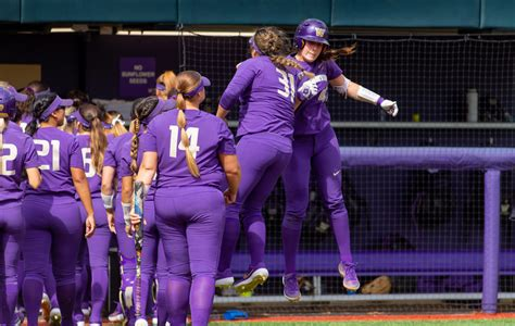 morganne flores hits  hrs leads uw softball