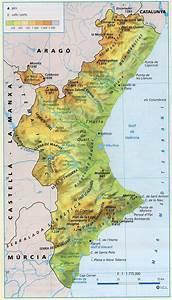 Hi Ha Trenques Ferm  Comunitat Valenciana  Mapa F U00cdsic