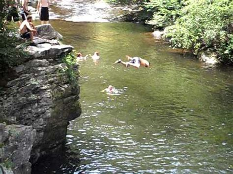 cliff jumping the sinks smoky mountains cliff jumping at the sinks belly buster smoky mountains
