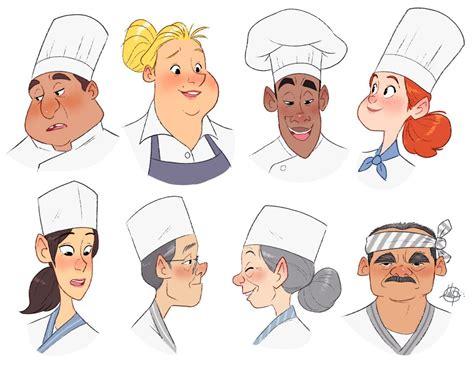 modern character design sheets