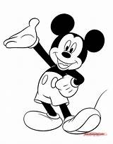 Mickey Mouse Drawing Coloring Pages Games Disney Disneyclips Print Presenting Minnie Cartoon Colouring Drawings Gangster Clipart Paintingvalley Only Funstuff Stickers sketch template