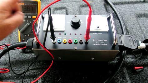 custom rv trailer wiring test box youtube