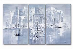 tableaux modernes triptyque rectangle gris tendance With couleur peinture moderne pour salon 15 tableau moderne grand format rectangle gristableau