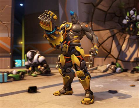 overwatch skins  doomfist update arrives complete