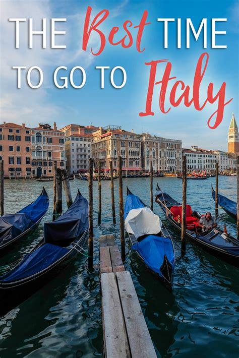 Best Time Travel by The Best Time To Travel To Italy The Abroad