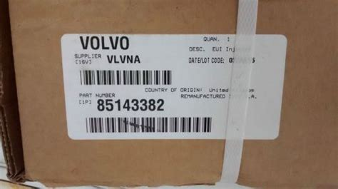 purchase concial injectors  pak  volvo