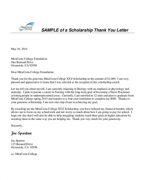 fisher college of business cover letter 26 sle thank you letter formats sle templates