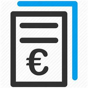 Business, euro, european, invoices, price list icon   Icon ...