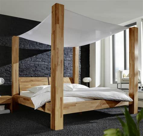 Stange Für Himmelbett by Himmelbett Aus Holz Die Spektakul 228 Rsten Ideen