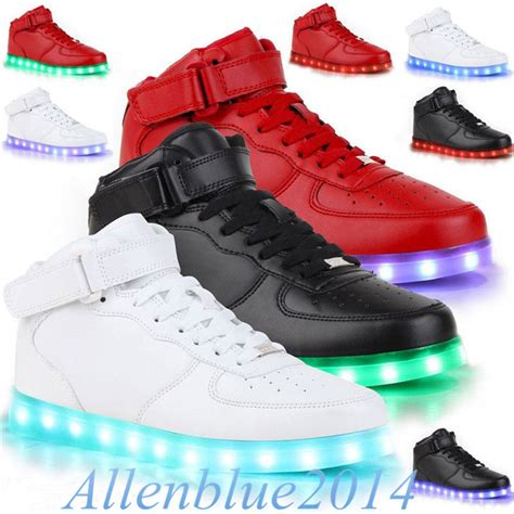 womens light up sneakers led light couples light up trainer