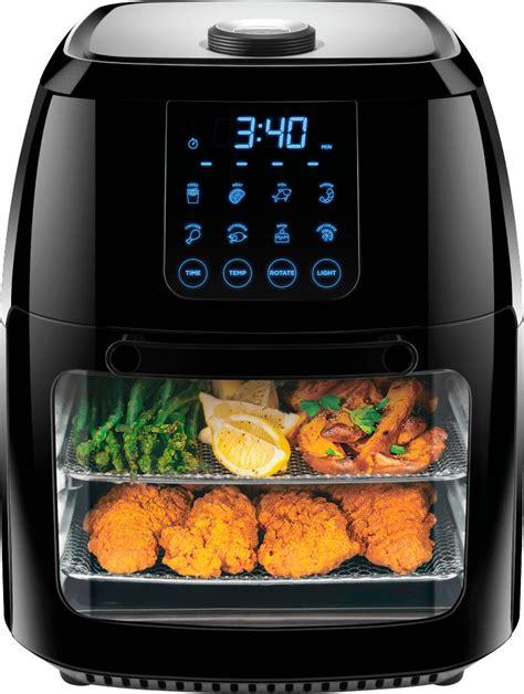fryer air chefman multi function digital 6l oven rotisserie recipes airfryer fry power rj38 rdo accessories chicken toaster capacity bestbuy