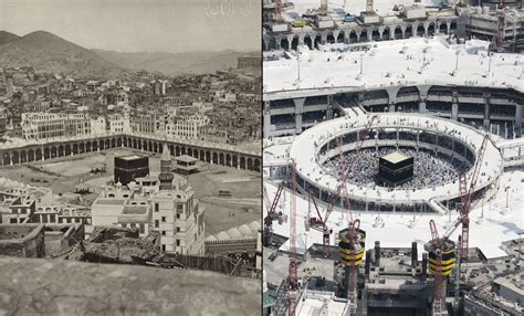 Mecca Then And Now, 126 Years Of Growth