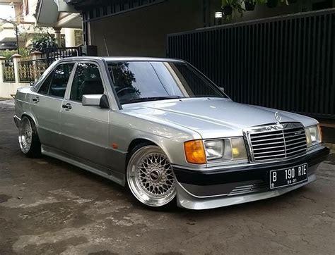#Mercedes_Benz 190 #W201 #BBS_Wheels #Old_School #Slammed ...