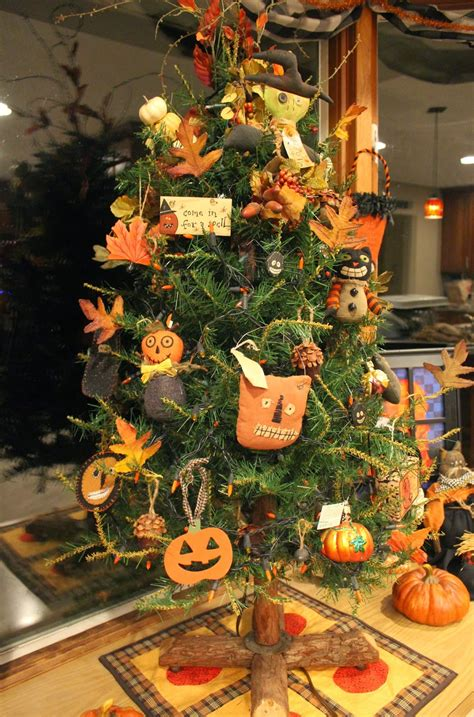ohio thoughts fall decorated christmas tree